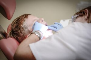 Child's First Dentist appointment River Valley Smiles